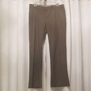 Gap brown striped dress pant